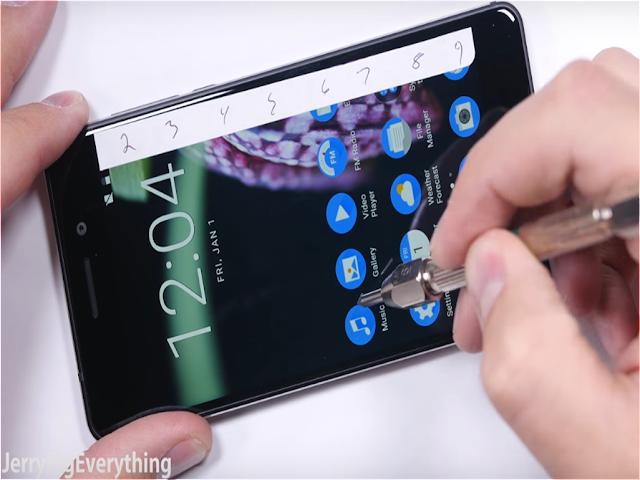 Nokia 6 Durability Test