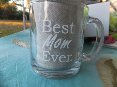Best Mom Ever Glass Coffee Mug 13 oz - Top Mother's Day Gifts - Unique Novelty Birthday Gift From Kids, Son or Daughter - Perfect New Present Idea for a Mother, Wife, Sister, Grandma or In-law by Got Me Tipsy