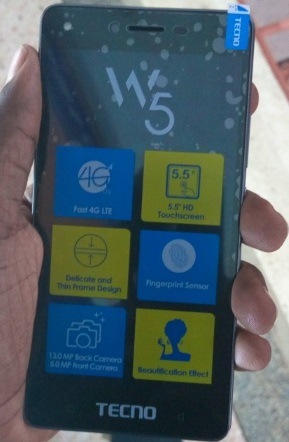 Tecno W5 Coming With Slim Body, Finger Print ID and 4G LTE