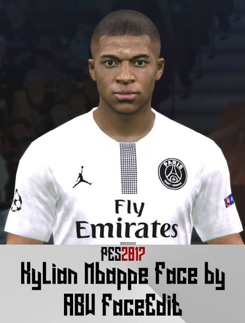 Kylian Mbappé Face - PES 2017 - PATCH PES | New Patch Pro Evolution