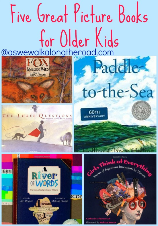 Picture books for upper elementary and middle school