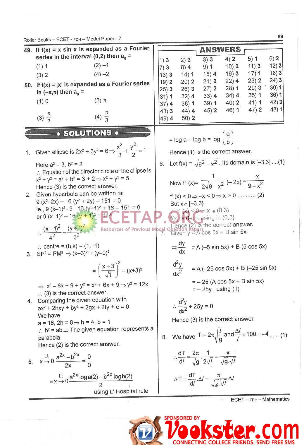 Papers question for pdf pgecet previous eee
