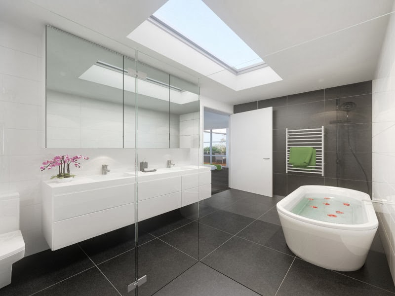 Modern Bathroom Ideas Photo Gallery: Modern Bathroom Design 2013