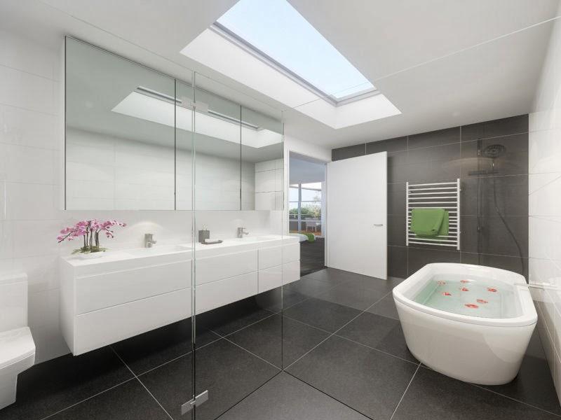 Modern Bathroom Design 2013 - Clean Lined, Easy, Elegant ...