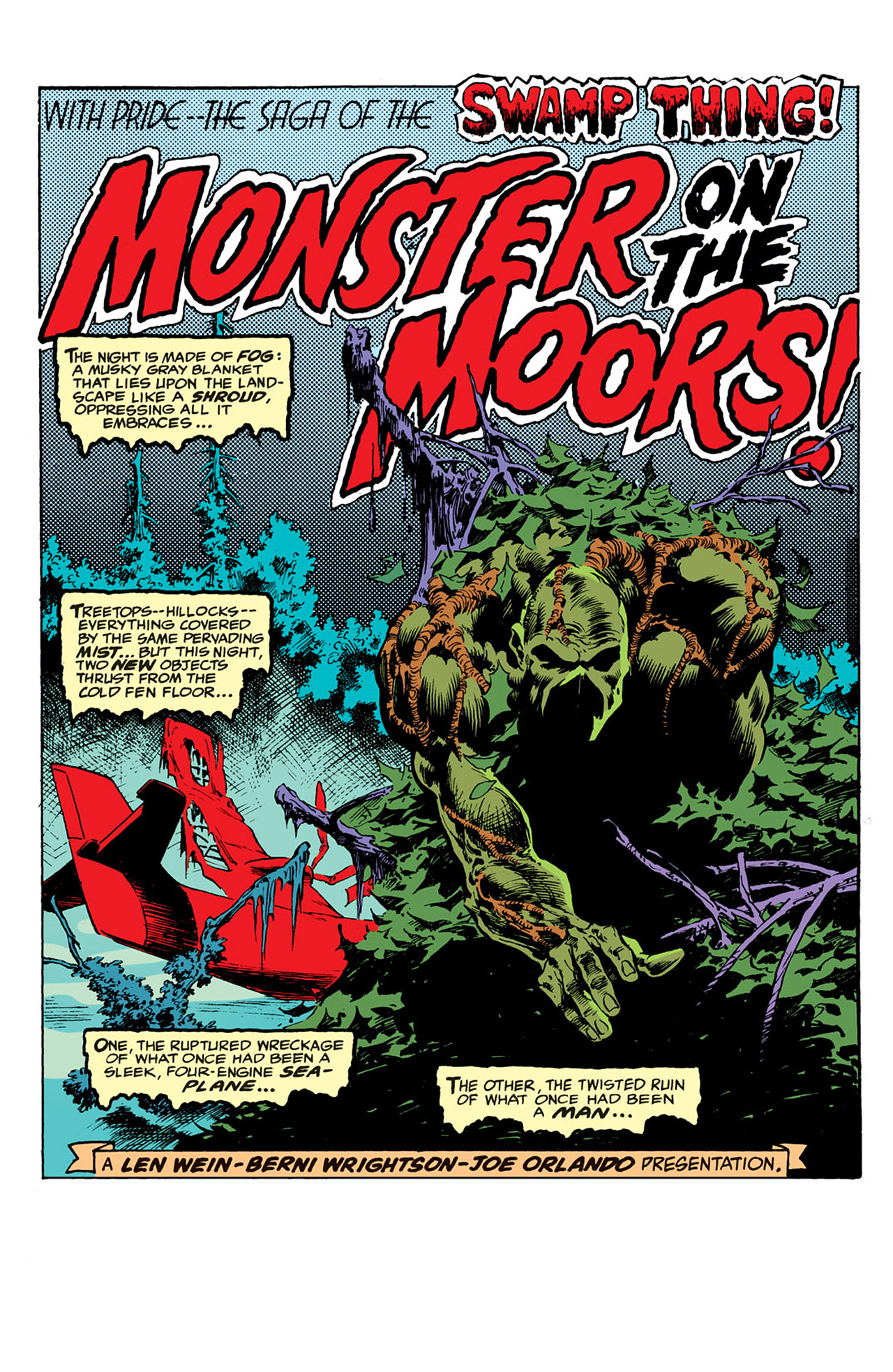 Swamp Thing (1972) Issue #4 #4 - English 2