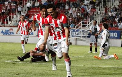 Santos empató con Necaxa 2 a 2