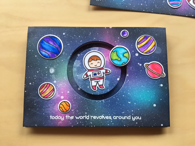 Lawn Fawn out of this world stamp set