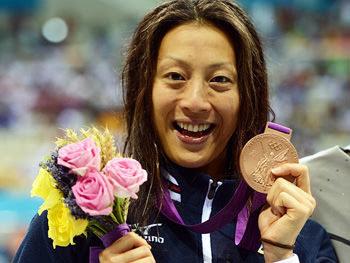 寺川綾選手 銅メダル