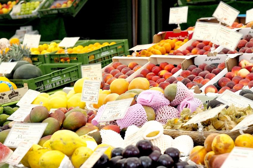 Obst am Viktualienmarkt
