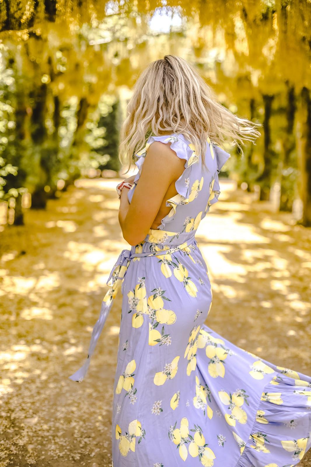 sweetpea dress majorelle