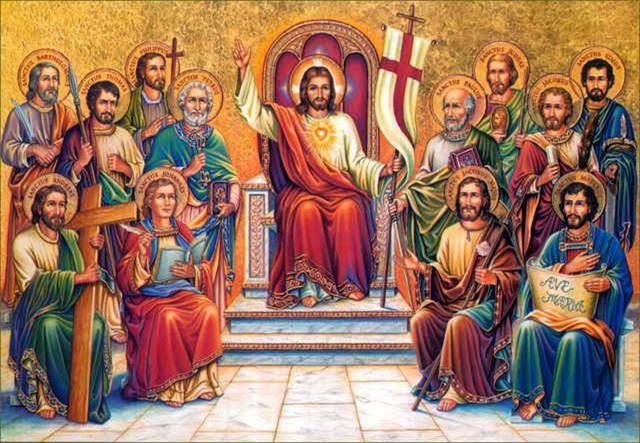 Khi Con Người đến trong vinh quang, có hết thảy mọi thiên thần hầu cận