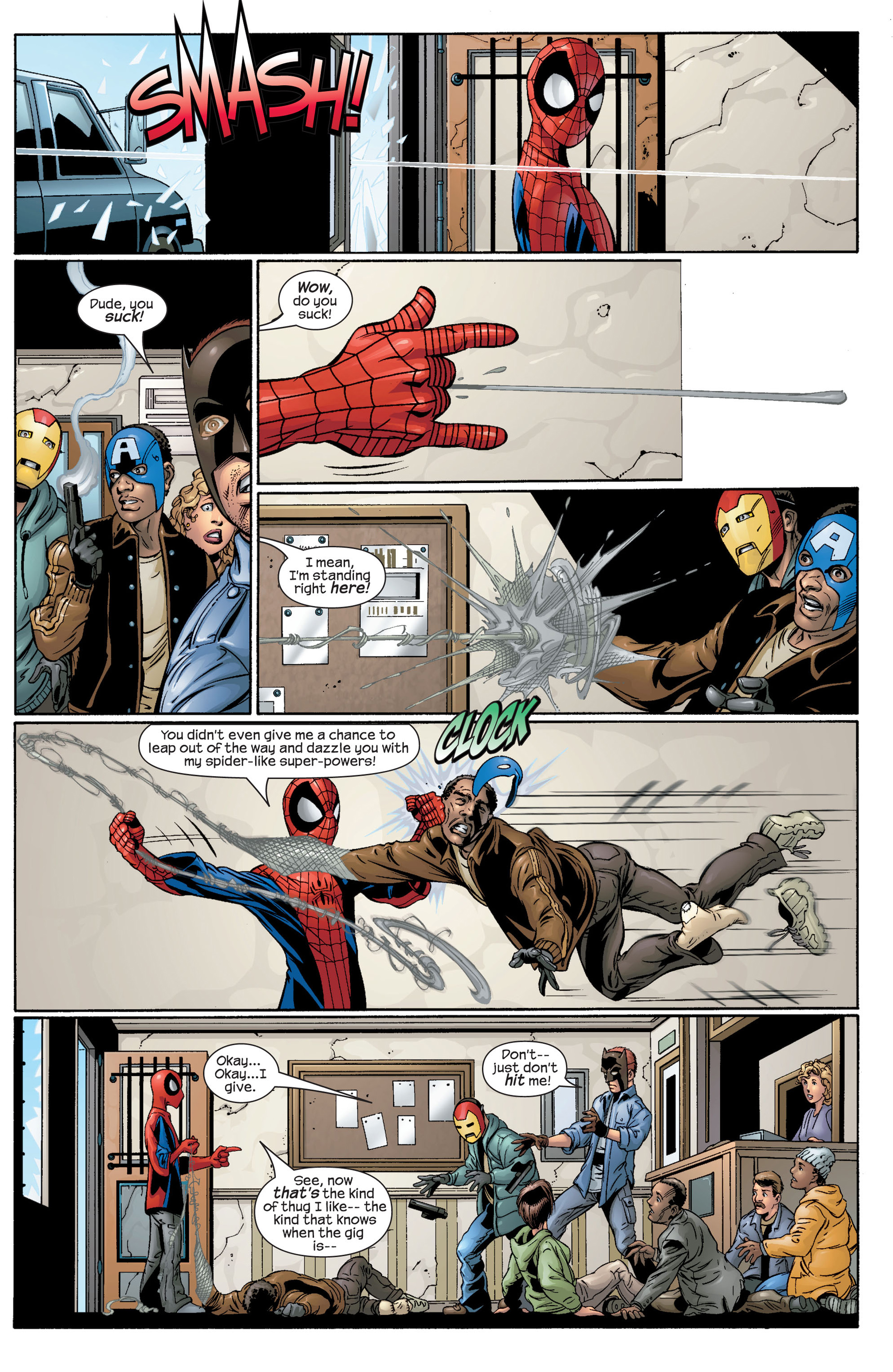Read online Ultimate Spider-Man (2000) comic -  Issue #42 - 17