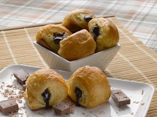 Resep Cara membuat roti manis isi coklat yang lezat