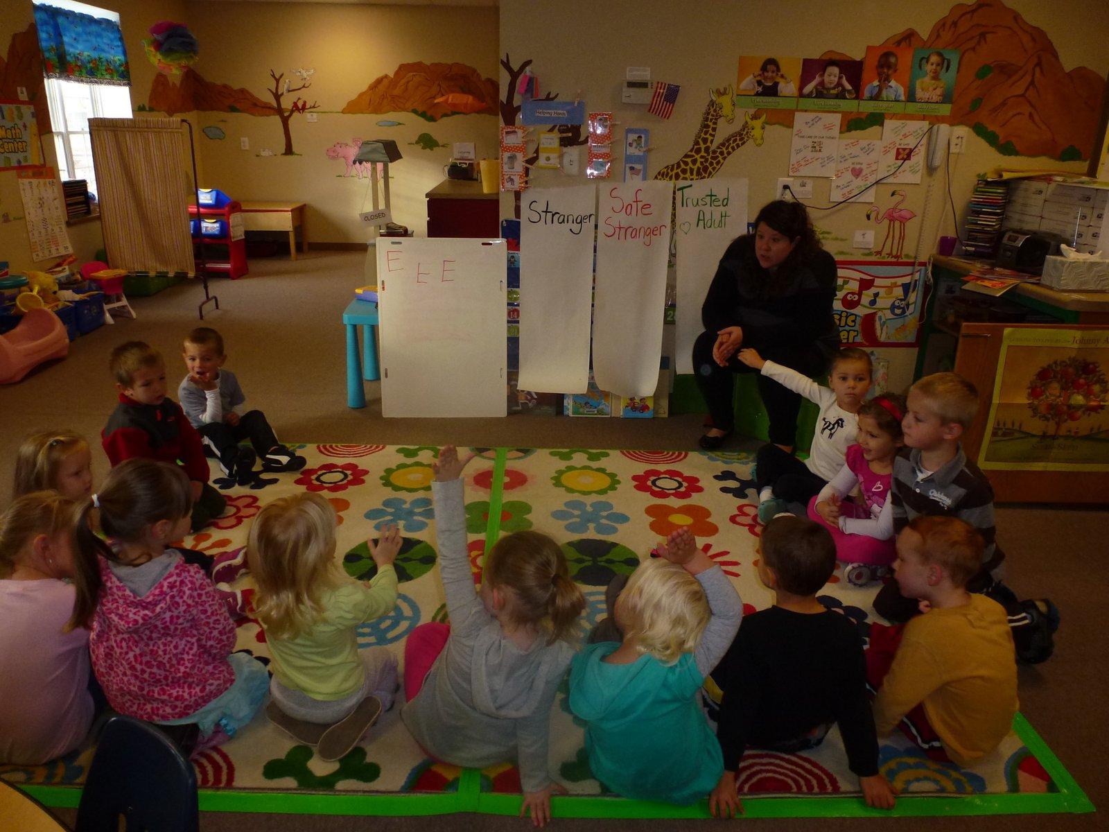 Ms Hollie S Preschool Stranger Danger
