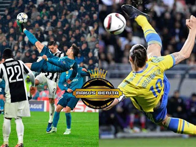 Ibrahimovic 'Salto Ronaldo ? Coba Dari 40 Meter !'