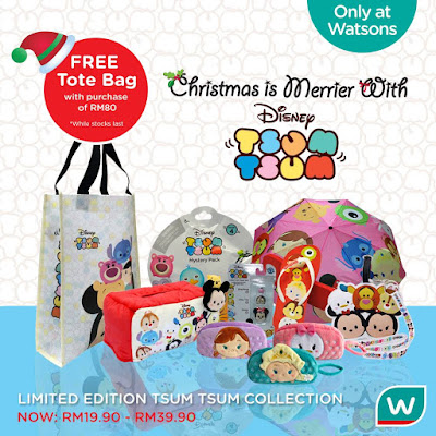 Watsons Disney Tsum Tsum Limited Edition Collection