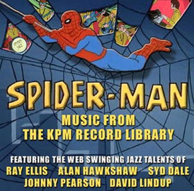 The Vinyl Frontier : VA-Spider-Man-Music From The KPM Record Library
