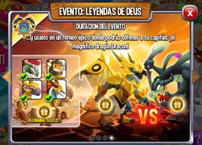 imagen de la duracion del evento leyenda de deus