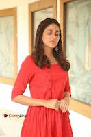 Actress Lavanya Tripathi Latest Pos in Red Dress at Radha Movie Success Meet .COM 0027.JPG