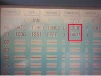 Kode jam paper 0A07 IR 2270, ini penyebabnya