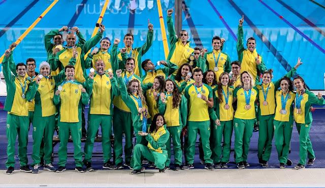 Brasil bate recorde e acaba Pan de Lima em segundo lugar