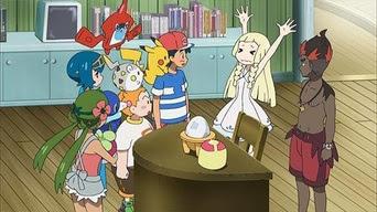 Pokemon Sol y Luna Capitulo 8 Temporada 20 ¿Quien Esta A Cargo Del Huevo?