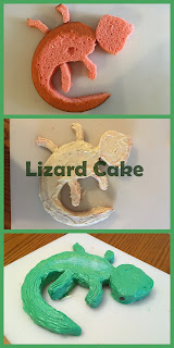 Lizard Cake at whatilivefor.net