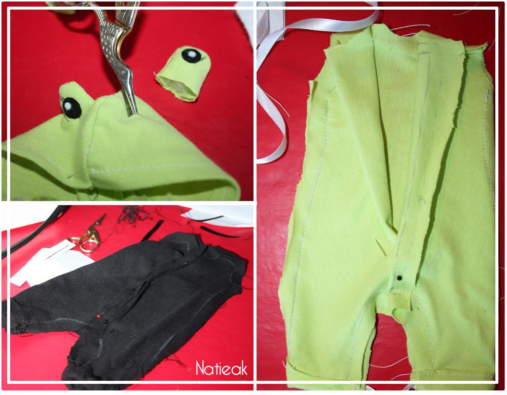 Comment fabriquer un costume de grenouille  pour Barbie