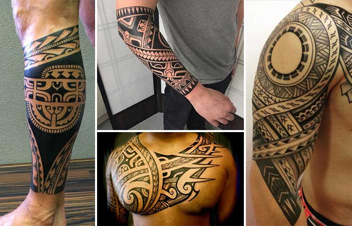 Maori tribal dövme modelleri tattoos