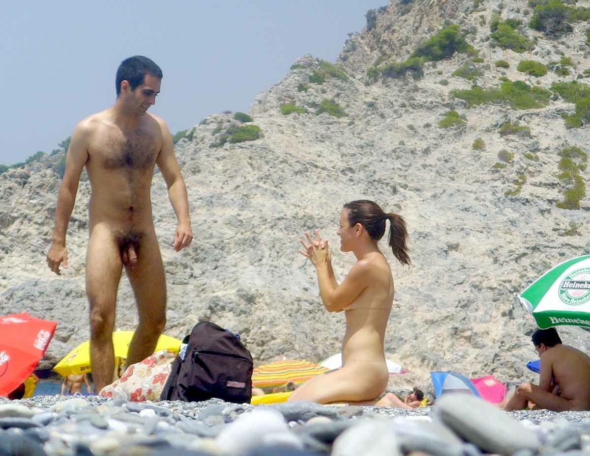 There's nothing naked woman erect penis nude beach can suggest