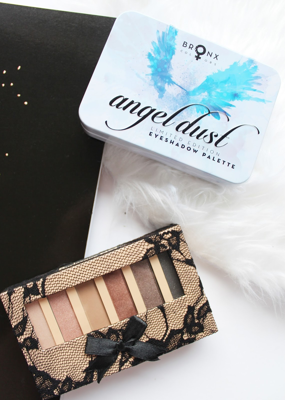BRONX COLORS | Burlesque + Angel Dust Eyeshadow Palettes - Review + Swatches - CassandraMyeea