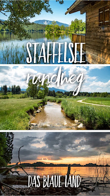 Staffelsee-Rundweg | Wanderung bei Murnau – Das Blaue Land | Wanderung am Staffelsee | Seehausen - Uffing - Murnau