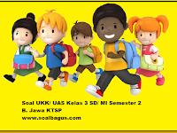 Soal UKK/ UAS Kelas 3 B. Jawa Semester 2 Terbaru