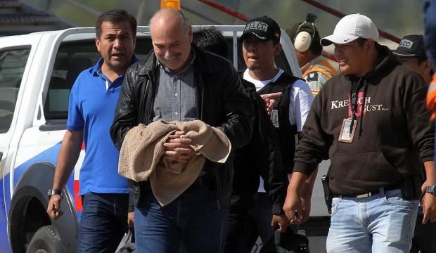 Lozada fue detenido poco después de su reelección en la FBF / ARCHIVO UNITEL