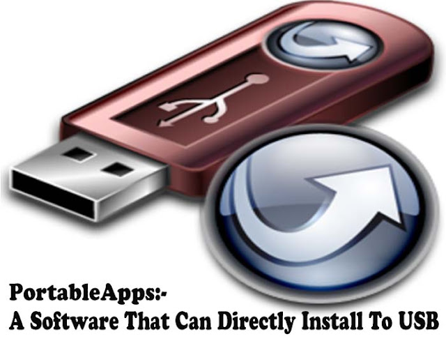 Portable Apps A Software Platform That Can Directly Install To USB