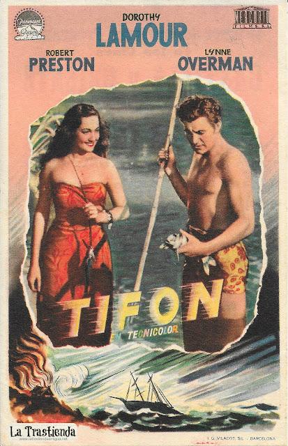 Tifón - Programa de Cine - Dorothy Lamour - Robert Preston