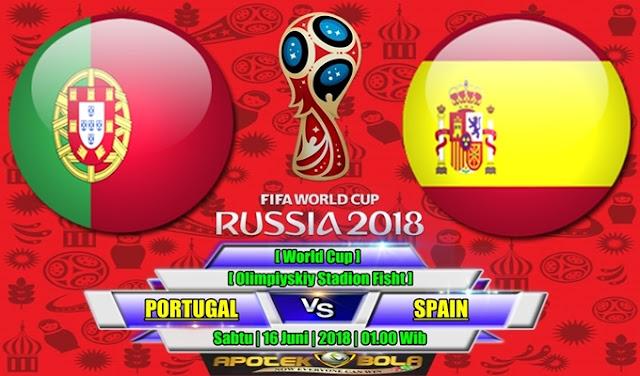 Prediksi Portugal vs Spain 16 Juni 2018