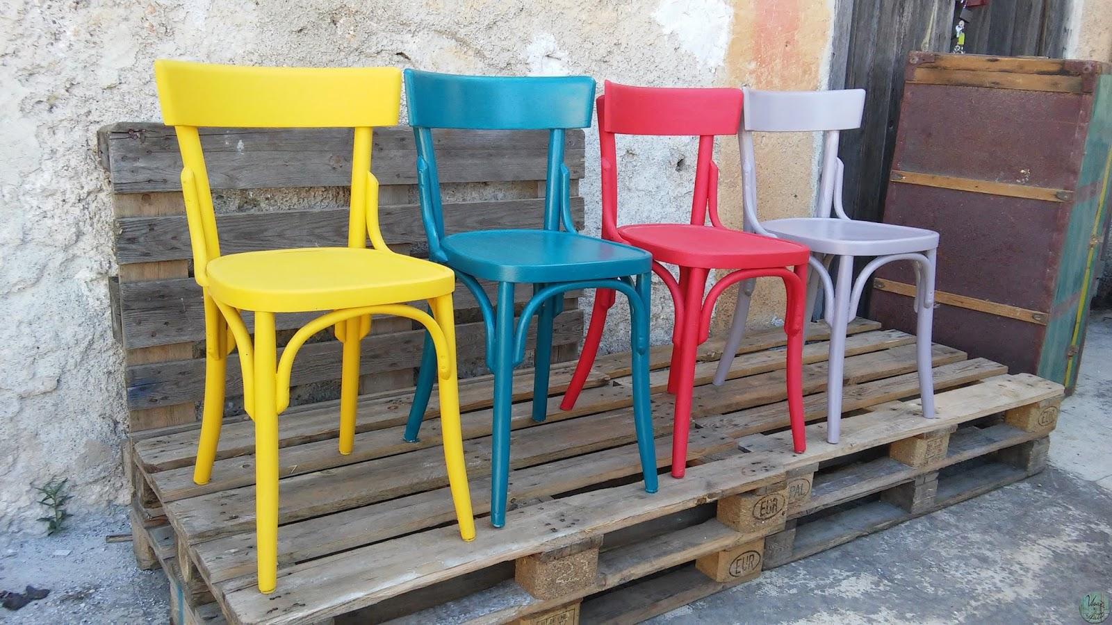 Sedie Vintage Colorate : Riciclo creativo idee creative diy usati e rifatti