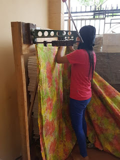 Batik Fabric production
