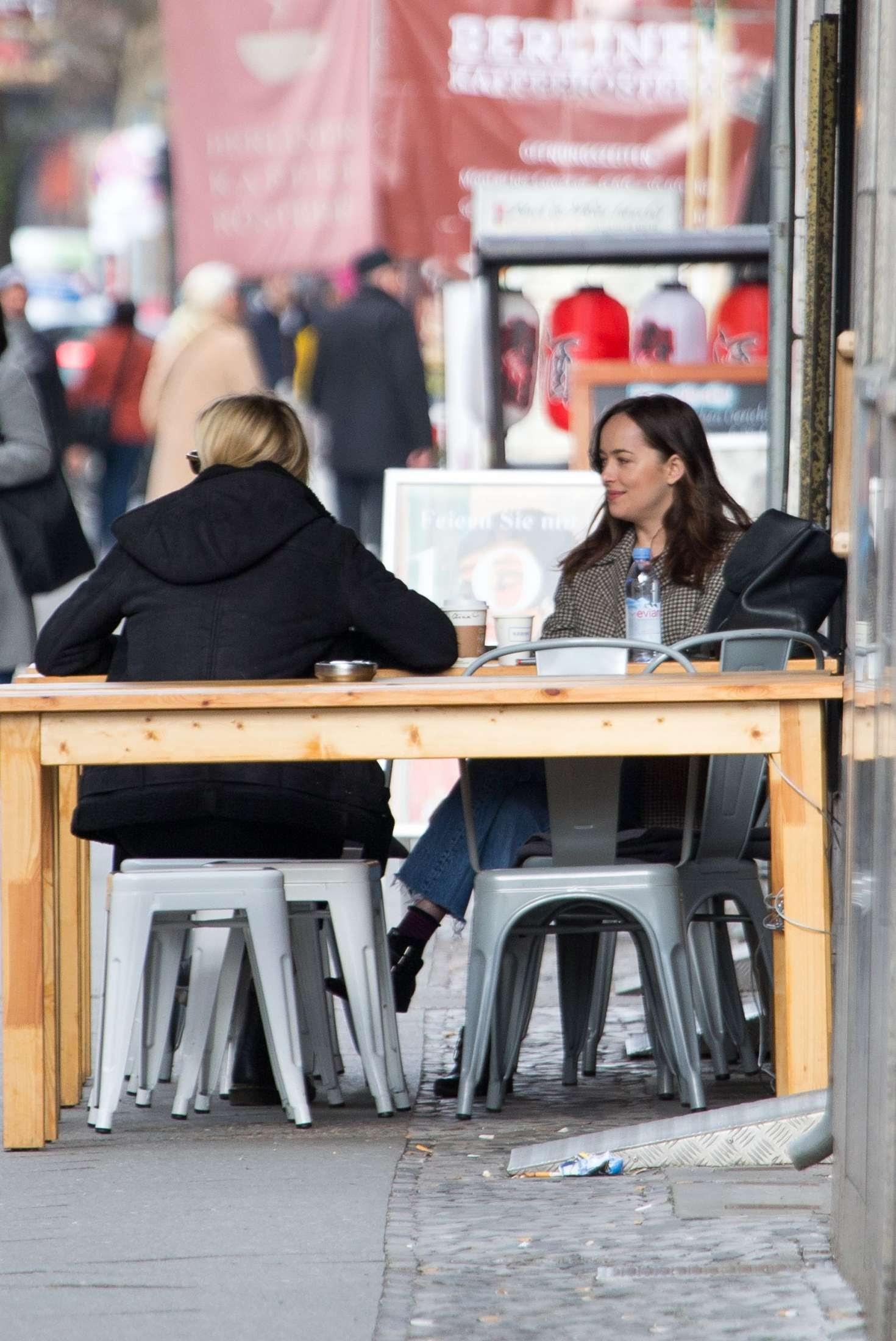 Dakota Johnson enjoy a holiday in Germany