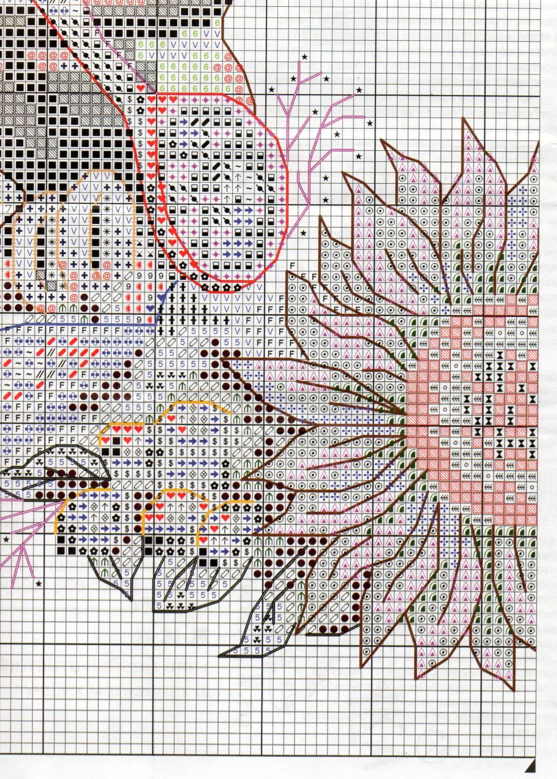 Венок изобилия. Схемы вышивки (11)