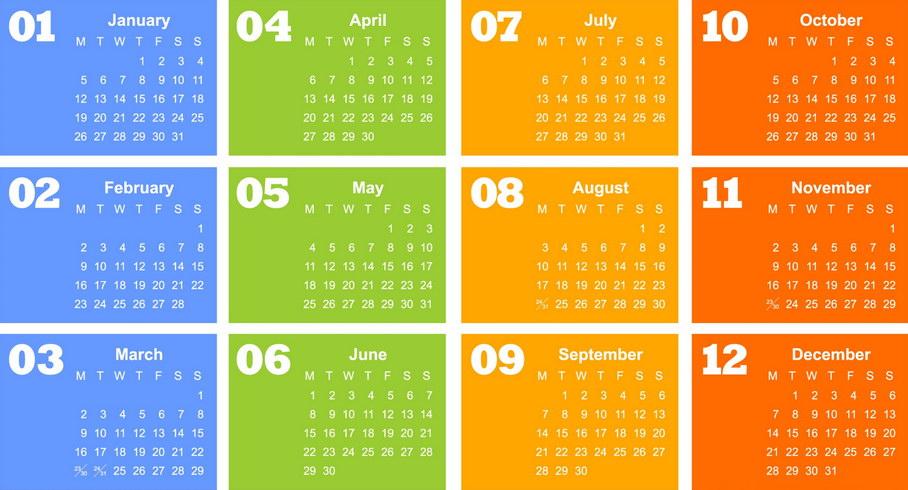 Ημερολόγιο - Εορτολόγιο