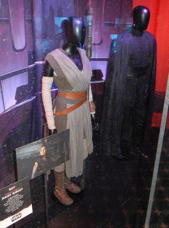 Rey Star Wars Last Jedi film costume