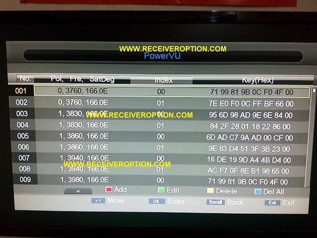 STAR TRACK 2080 DIAMOND HD RECEIVER AUTO ROLL POWERVU KEY SOFTWARE