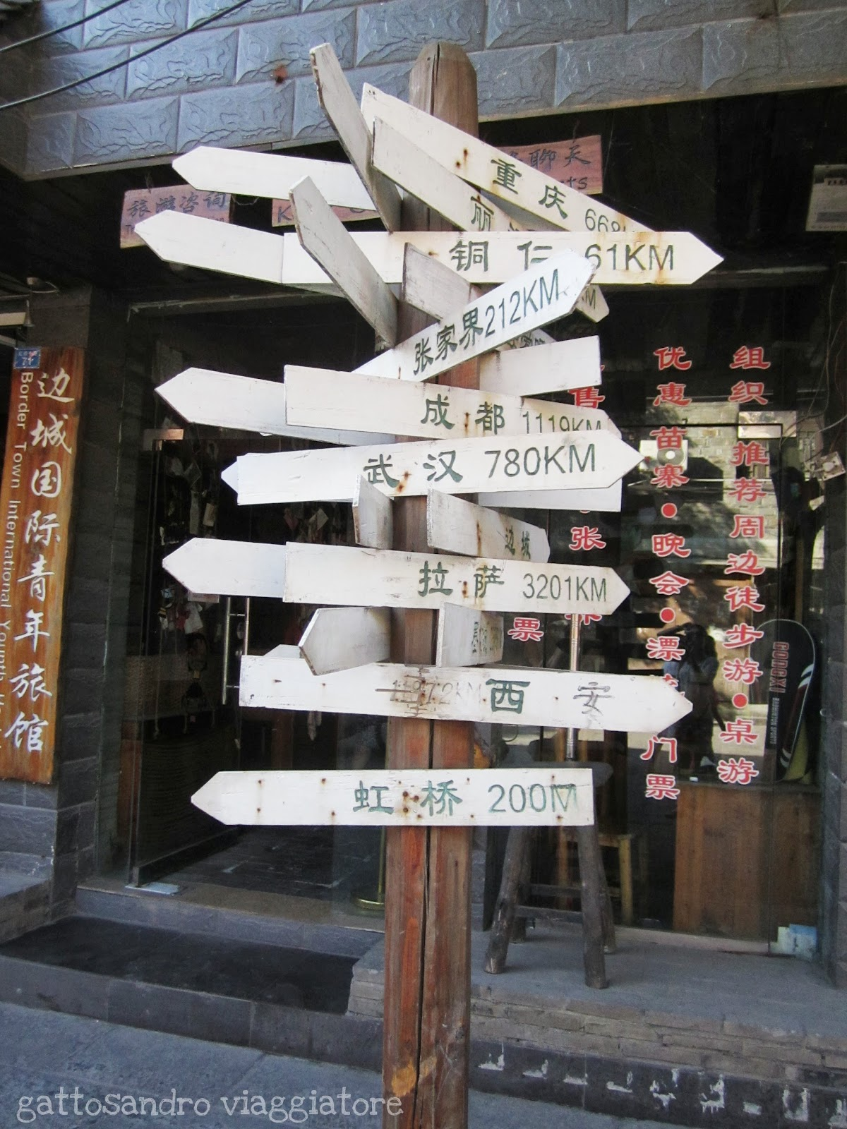 Gattosandro viaggiatore travel blog fenghuang for Case giapponesi antiche