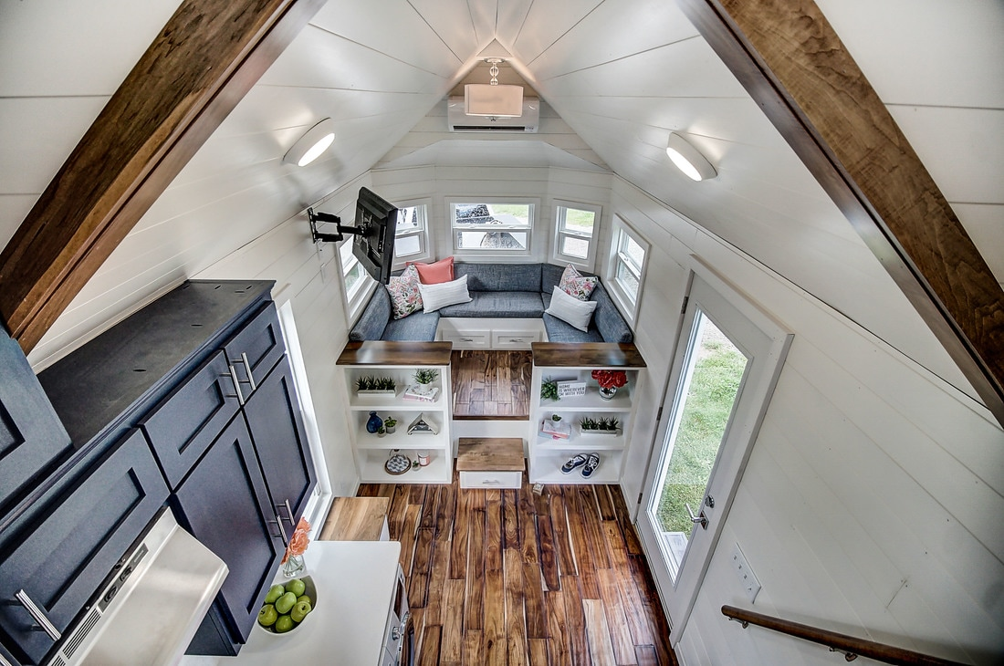 Modern Tiny House: TINY HOUSE TOWN: Kokosing By Modern Tiny Living