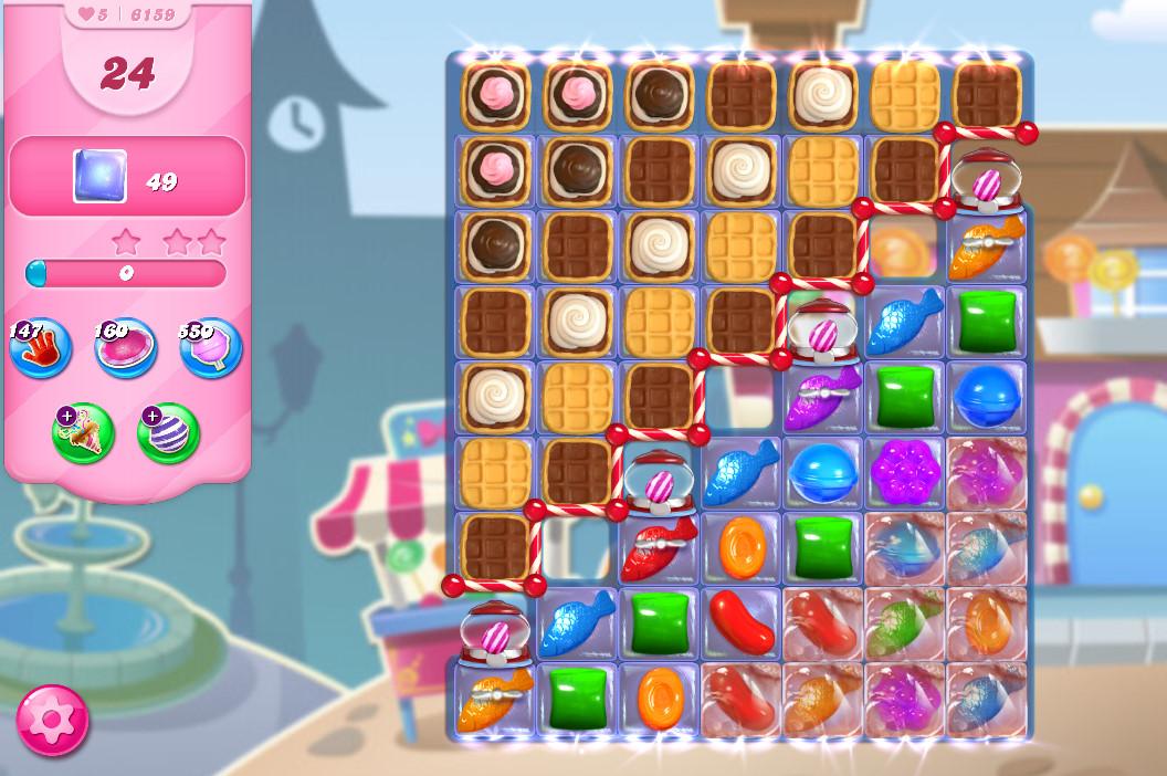 Candy Crush Saga level 6159