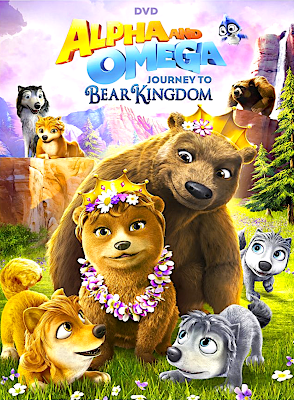 Alpha And Omega Journey To Bear Kingdom 2017 DVD R1 NTSC Sub