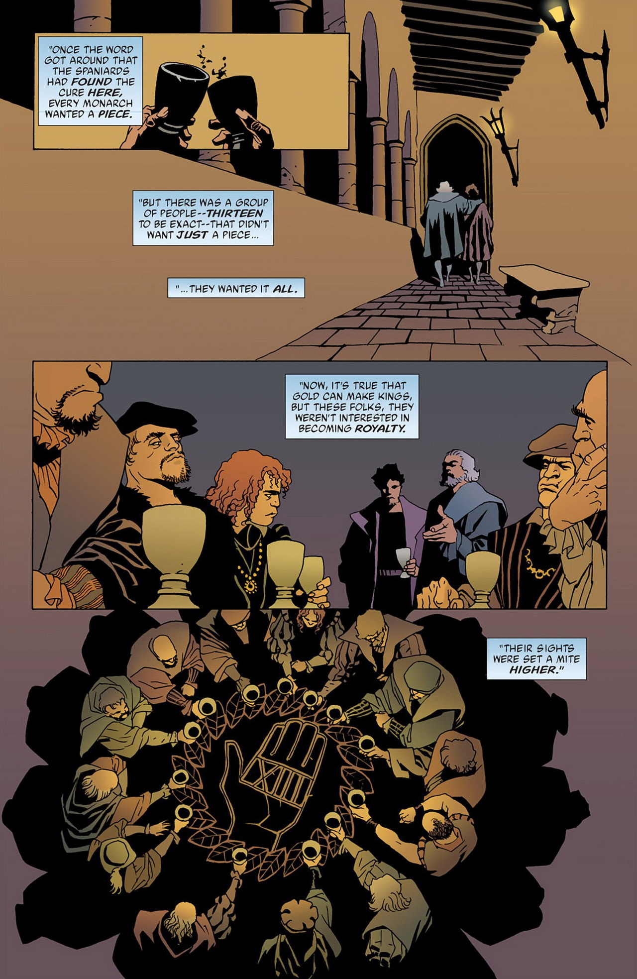 Read online 100 Bullets comic -  Issue #50 - 9