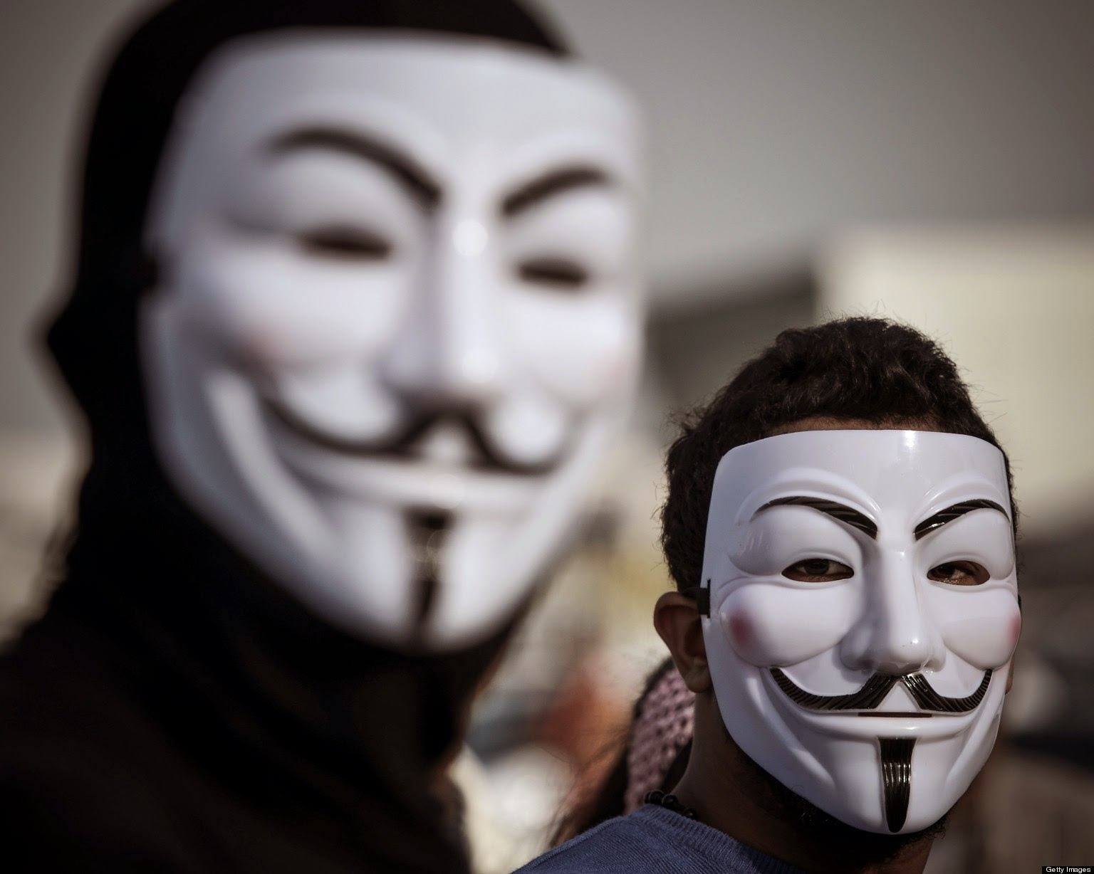 o ANONYMOUS MASKS facebook - The actor in you...